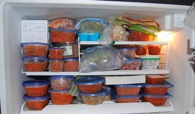 Gezond eten met afhaal uit eigen diepvries