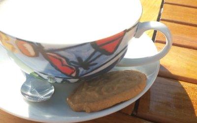 Het koekje bij de koffie …