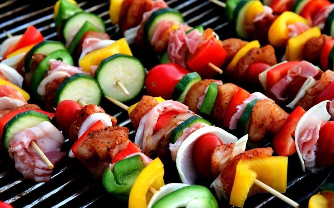 Slanke barbecue-tips
