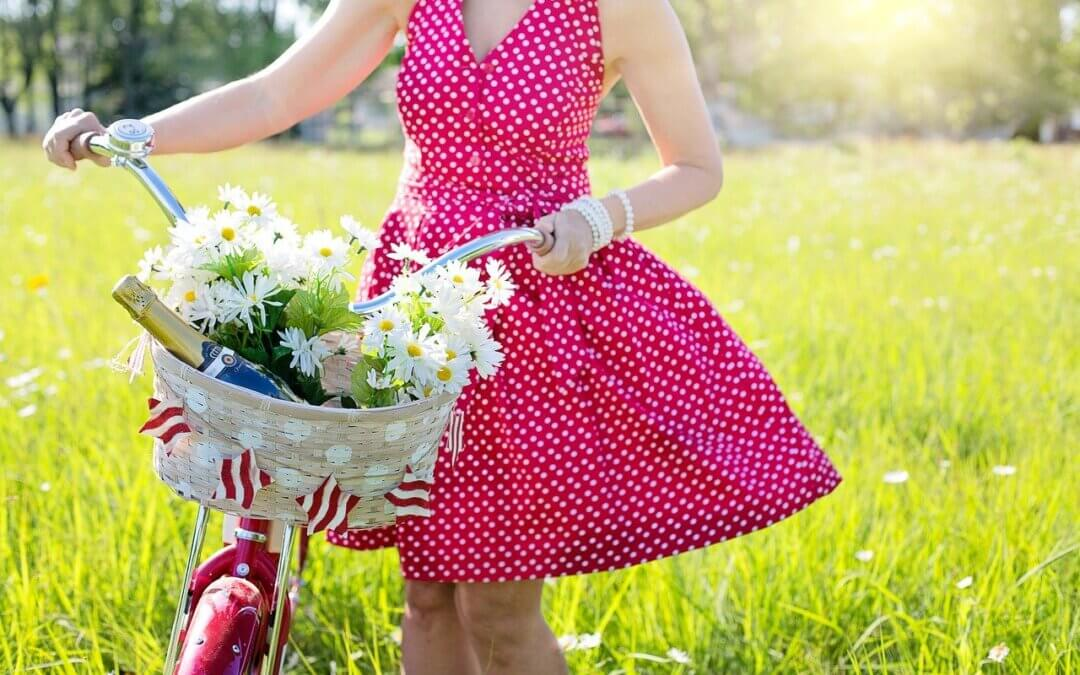 Het rode jurkje …